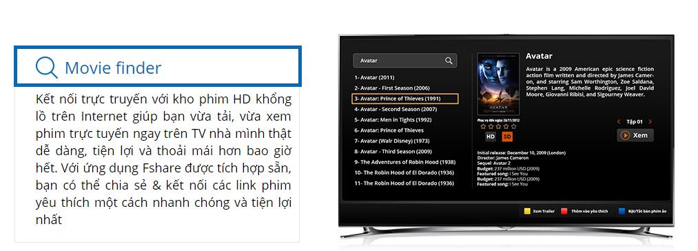 Movie Finder trên truyền hình FPT